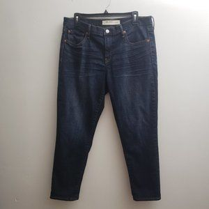 Gap 1969 Best Girlfriend Jeans Crop Blue Jeans 31